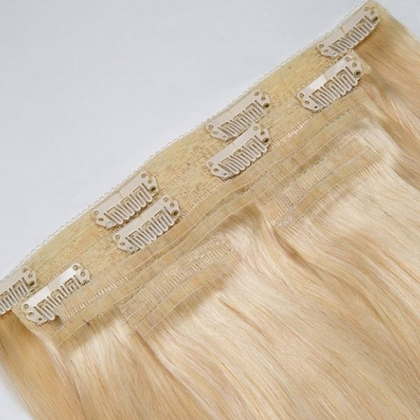 New Seamless Clip in Hair for Thin Hair NSL001