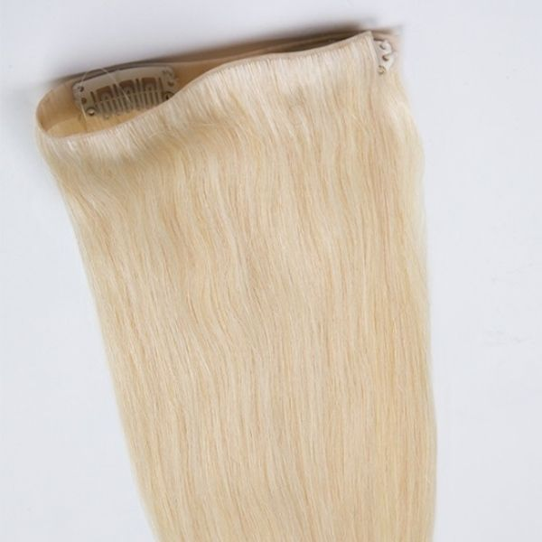 18''-22'' Skin Weft Clip In Hair for Fine & Thin Hair SWCLIP