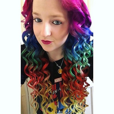 Rainbow Hair For Life Extensions Are 22 Inch Tapes By Vpfashion Amazing