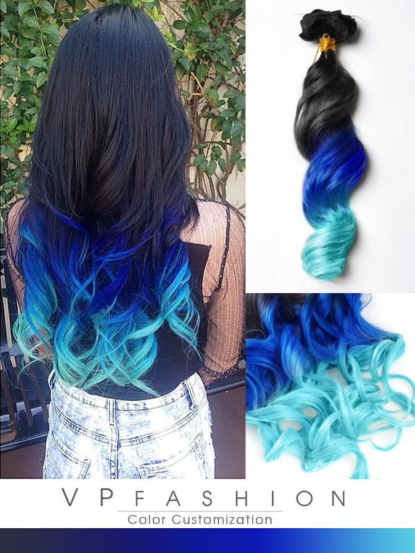 Blue Series Colorful Clip In C017 C017 11900 Vpfashion