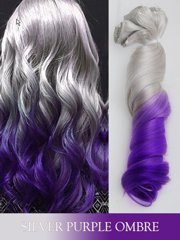 Silver And Purple Hair Find Your Perfect Hair Style