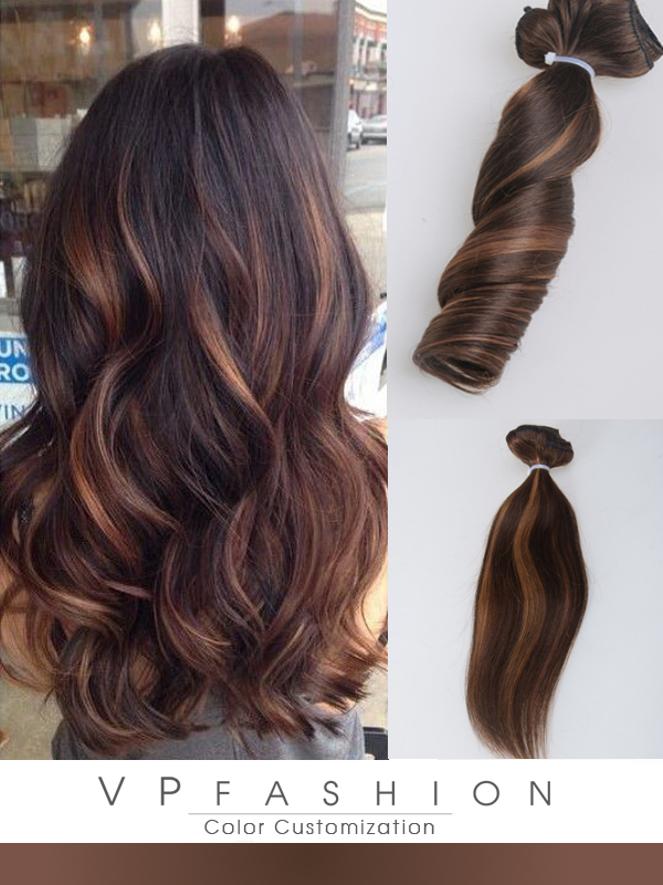 Balayage Clip In Hair Extensions H05B3027S