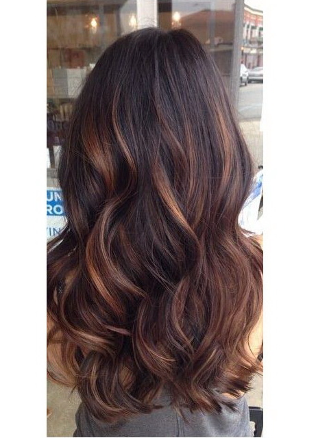 Hair Color Extending : Balayage indian remy clip in hair extensions H05B3027S [H05B3027S ...