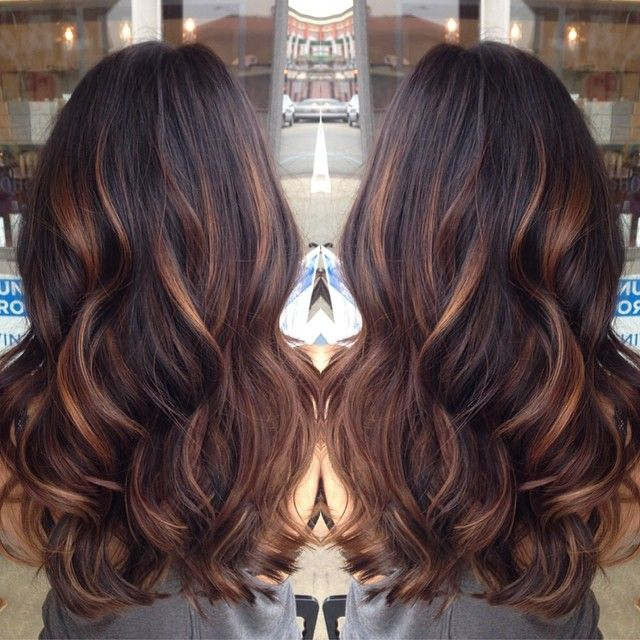 balayage hairstyles use indian remy clip in hair extensions-h05b3027s