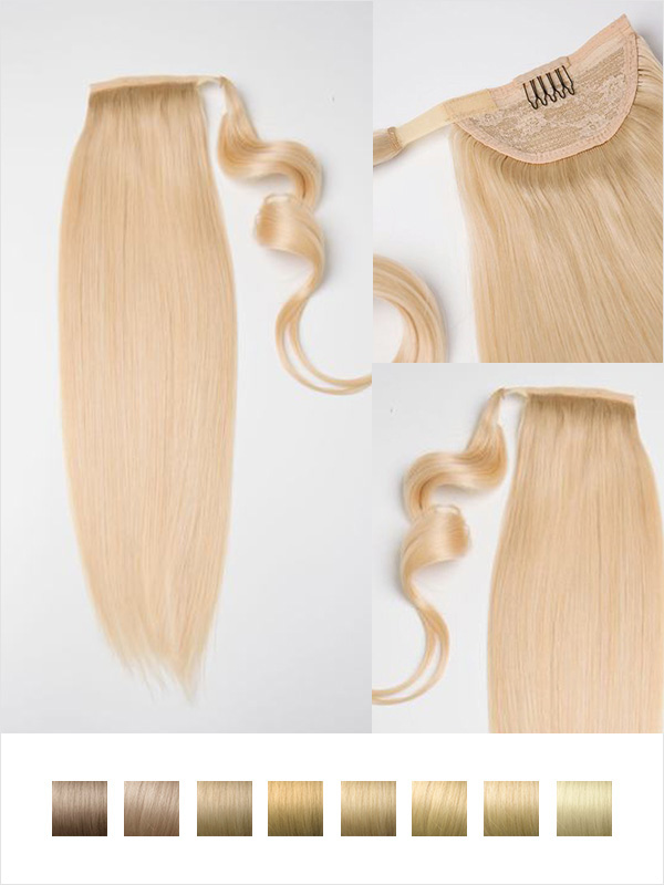 Vpfashion Indian Remy Hair Ponytail Solid Light Series PN002