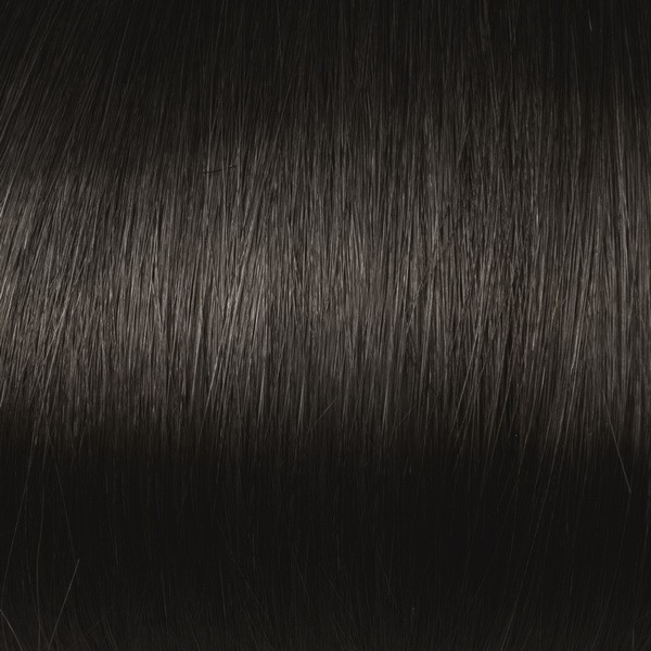Darkest Brown Solid Clip In Indian Remy Hair Extensions S02