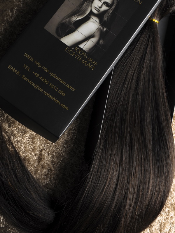 Darkest Brown Solid Clip In Indian Remy Hair Extensions S02 S02