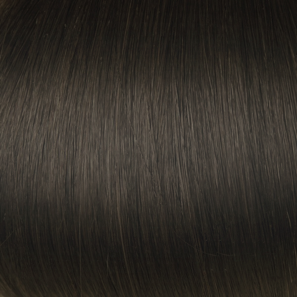 Chestnut Brown Solid Clip In Indian Remy Hair Extensions S06