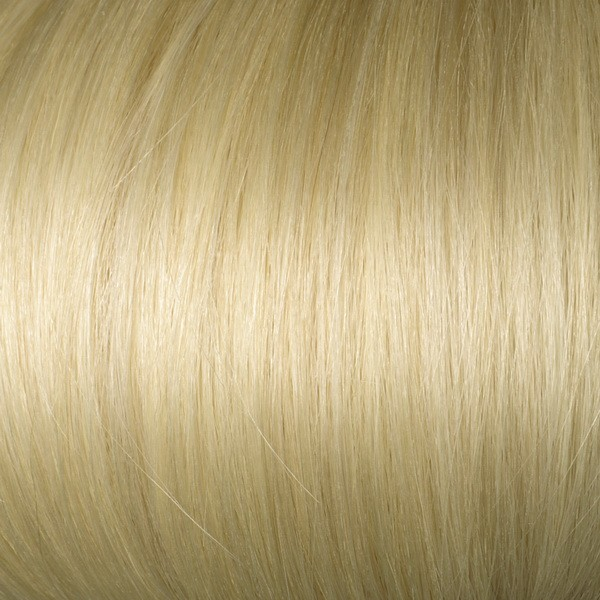 Light Ash Blonde Solid Clip In Indian Remy Hair Extensions S22
