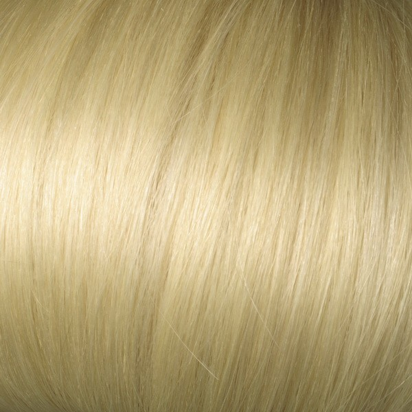 Pale Golden Blonde Solid Clip In Indian Remy Hair Extensions S24