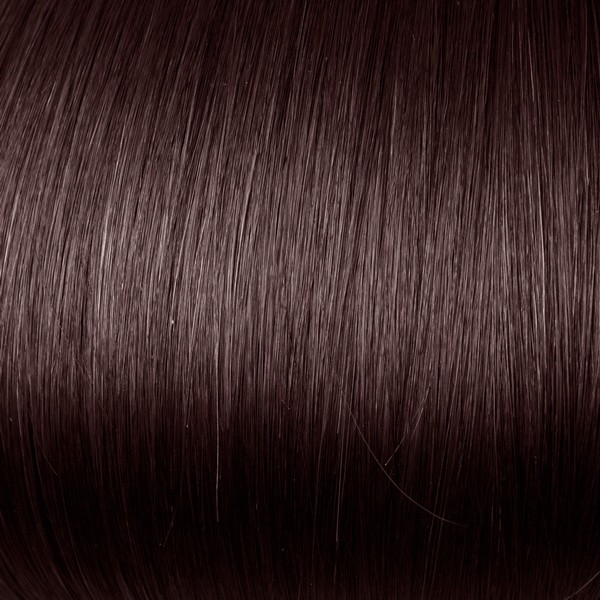Dark cherry red indian remy clip in hair extensions S443