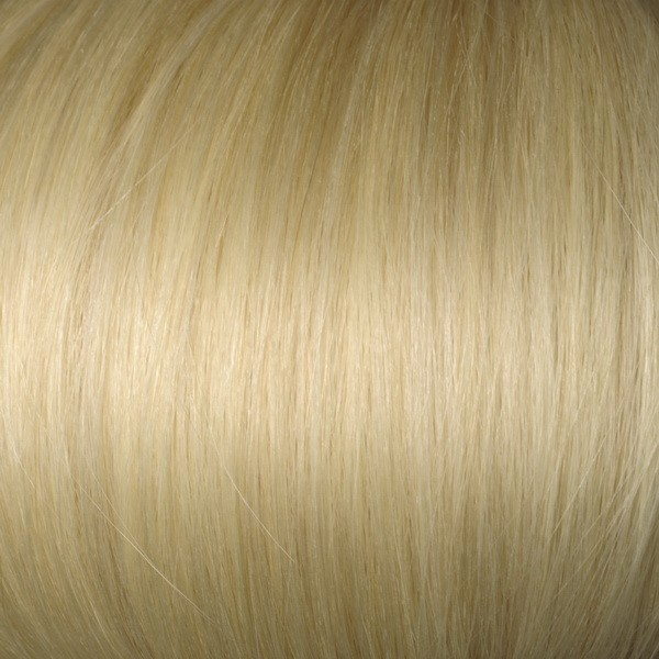 Platinum Blonde Solid Clip In Indian Remy Hair Extensions S613 S613