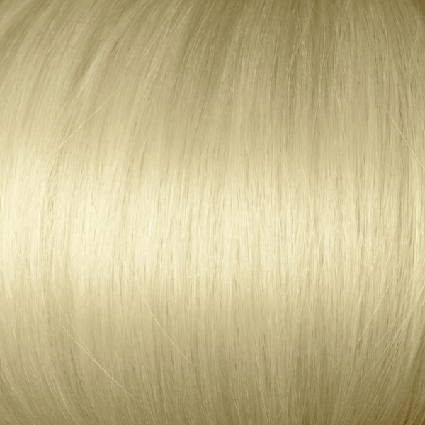 White Blonde Solid Clip In Indian Remy Hair Extensions S613A