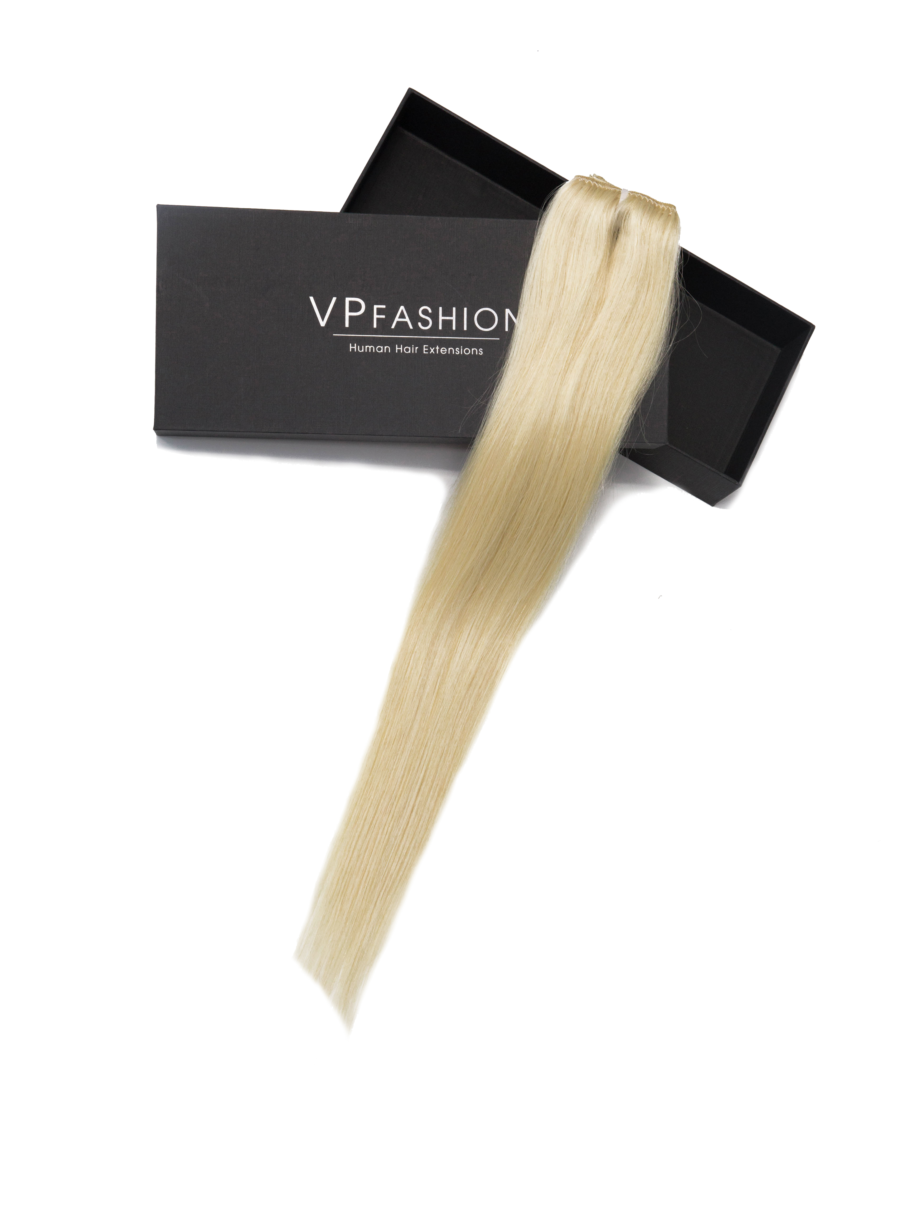 #613A/#NA Volumizer 20'' Clip In Human Hair Extensions TS003
