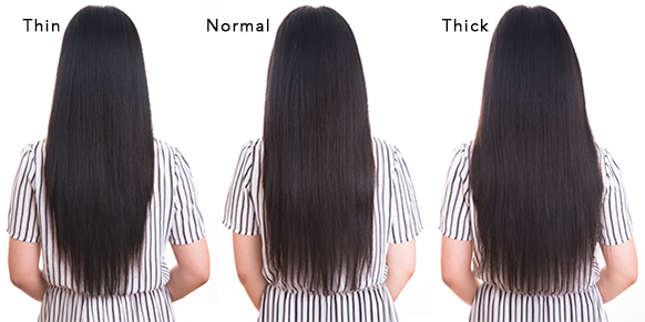 Solid color clip in indian remy hair extensions solid below are some comparison pictures for your reference pmusecretfo Images